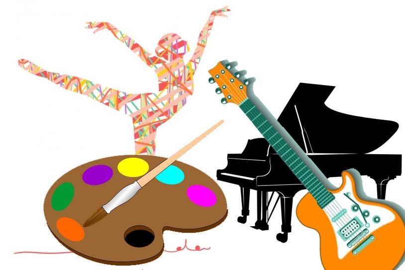Abierta la inscripción a la Escuela Municipal de Música, Danza y Artes Plásticas (Imágenes descargadas de www.freepik.es)