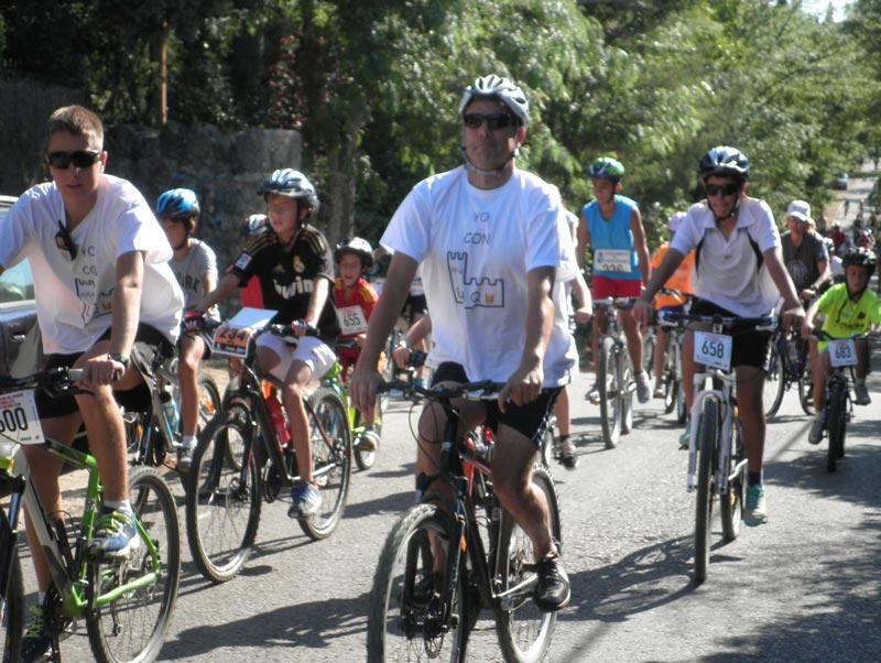 1ª Fiesta de la Bicicleta de la Peña La Cucaña - Torrelodones, julio 2015.