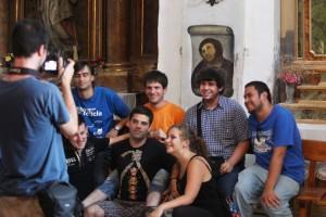 Desfile de turistas ante el eccehomo de Borja (Foto: Elpais.com)