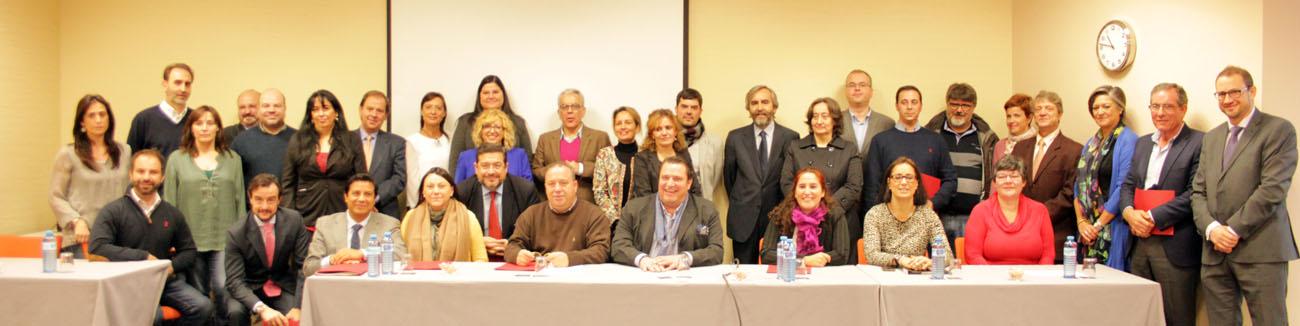 Asociaciones del noroeste y norte firman convenio carn for Madrid noroeste