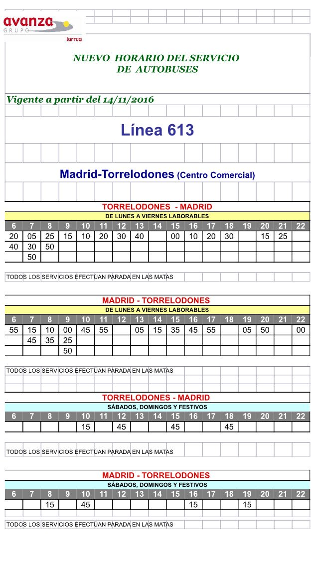 horarios-autobuses-linea-613