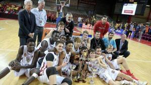 HM Torrelodones campeones del Mundial 2017 Cholet Basket (Foto: Mathilde Richard - Ouest-france.fr)