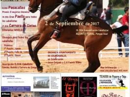 Cartel de la I Feria del Caballo en Colmenarejo