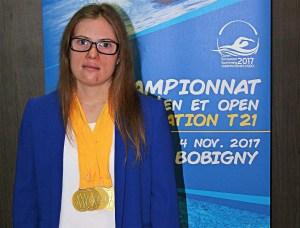 Nadadora Camino Martínez de la Riva