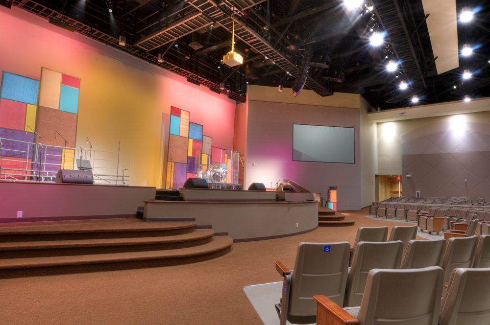 church video projection systems torrence sound equipment company. Black Bedroom Furniture Sets. Home Design Ideas