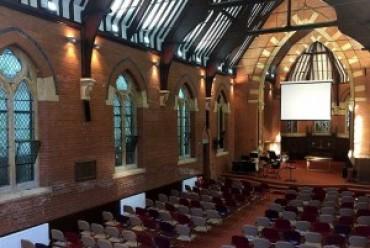 Crystal clear speech inside protected Birmingham church