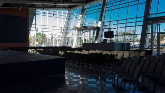 Martin Audio MLA And CDD Transcend Glass Walls In The Rock Church