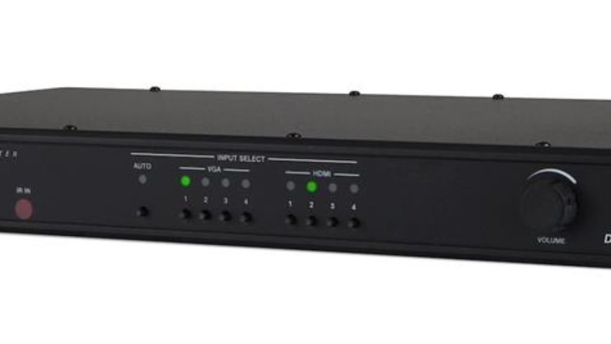 Crestron Now Shipping DigitalMedia 4K Multimedia Presentation Switchers