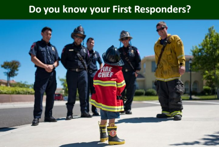 Do you know your First Responders?