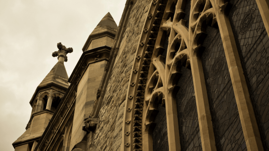 Medieval church equipped with Harman systems