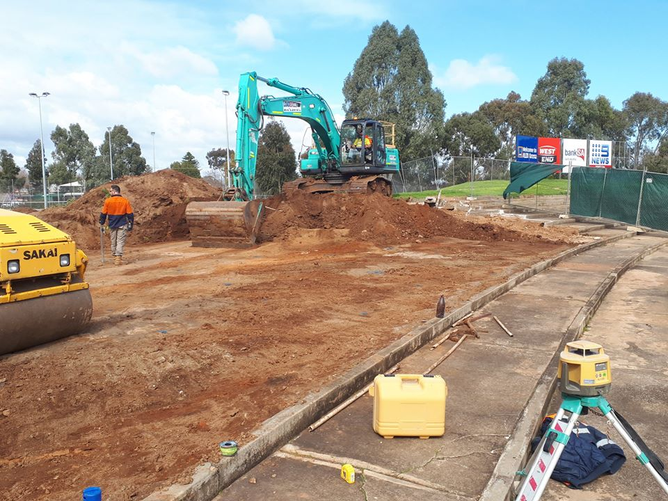 180816 Thebarton Oval Terraces leveled