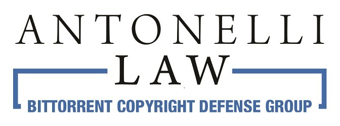 New Video Series From Antonelli Law on BitTorrent Copyright Infringement Defense