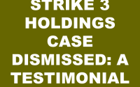 Strike 3 Holdings Case Dismissed Testimonial