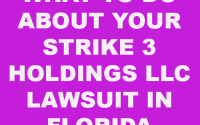 Strike 3 Holdings LLC lawsuit in Florida