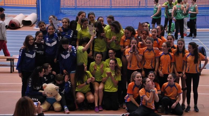 El CAT tercero en el campeonato autonómico cadete de clubes