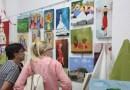 La asociación CREART celebra su fin de curso con una exposición de sus trabajos