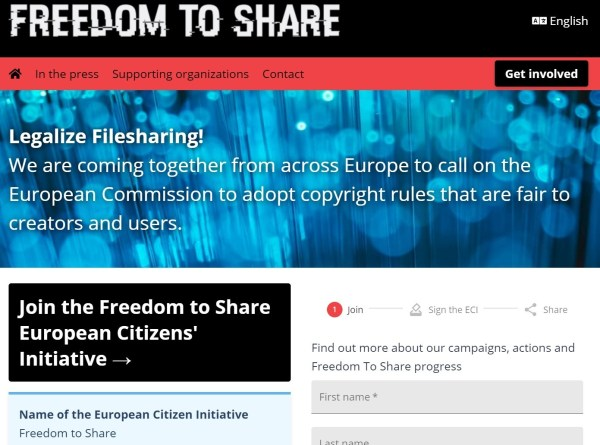 freedom to share