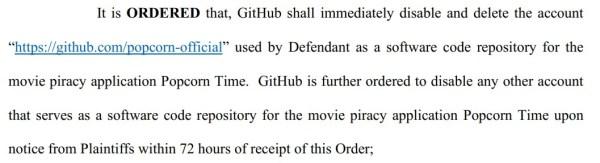 github popcorn