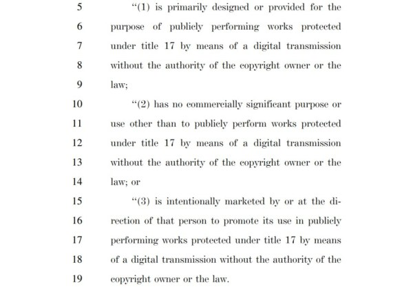 Protecting Lawful Streaming Act of 2020