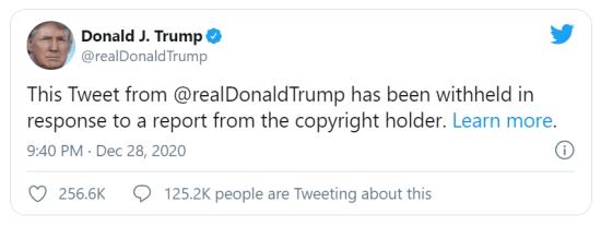Trump Tweet Delete