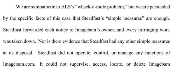 whack a mole steadfast ALS Scan