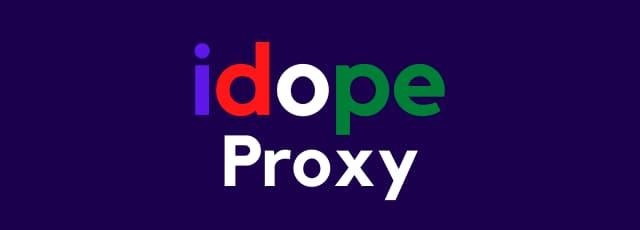 idope proxy