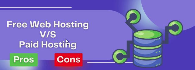 Free Web Hosting vs Paid Hosting