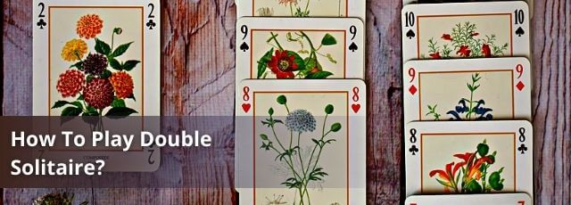 how to play double solitaire with 2 players