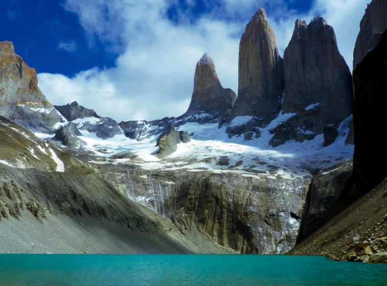 Hiking base The Towers  TorresDelPaine