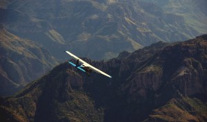 charter flights copper canyon