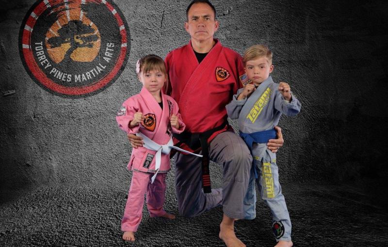 Sensei Jason and kids