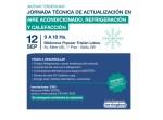 Jornada Técnica de Actualización en Aire Acondicionado, Refrigeración y calefacción en Lobos, Provincia de Buenos Aires