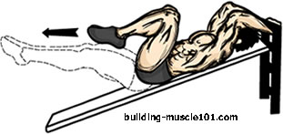 incline-knee-raises