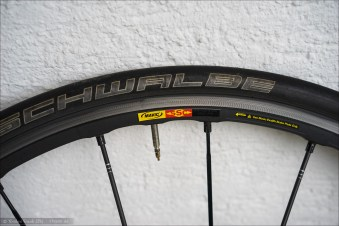 Mavic R-Sys SLR WTS Exalith 2 Hinterrad, Bremsflankenzustand