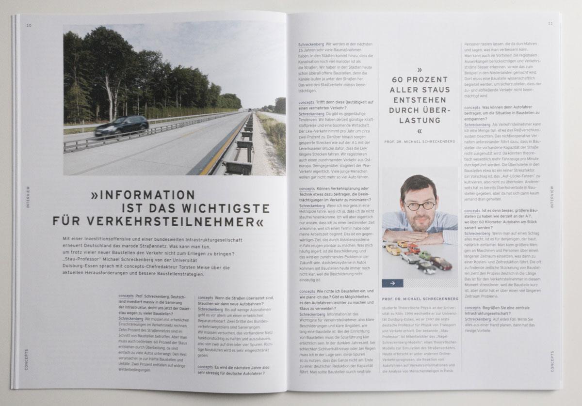 Interview Prof. Schreckenberg, concepts 1/2017