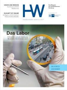 Magazin Hamburger Wirtschaft, Cober der Ausgabe Januar 2018