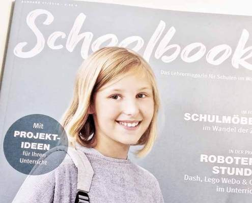 Schoolbook Magazin Cover