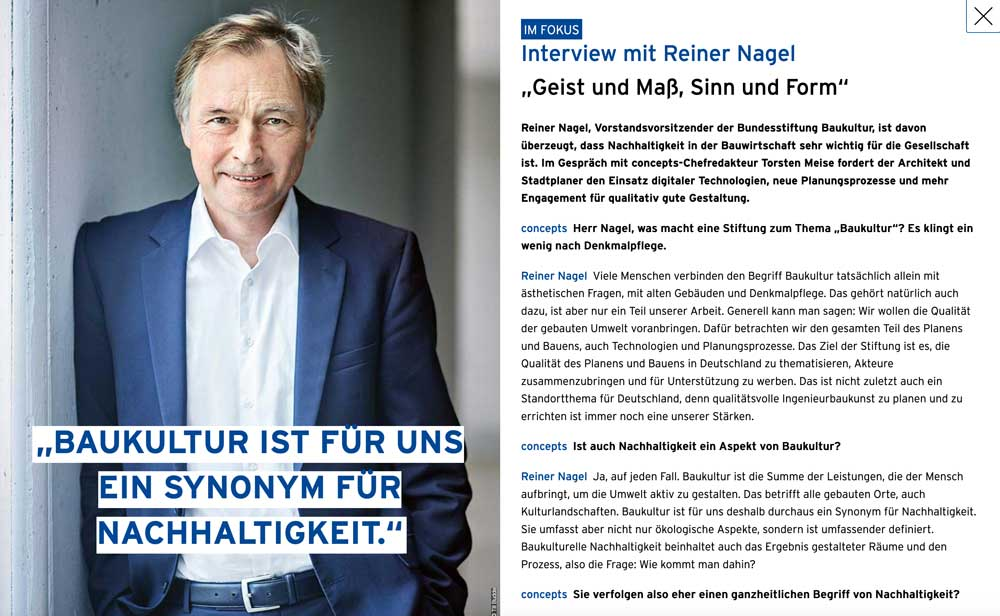 Interview Reiner Nagel