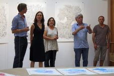 Vernissage, Je dessine le temps, tu peins le moment