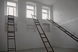 Michael Ebert, Leitern, Installation