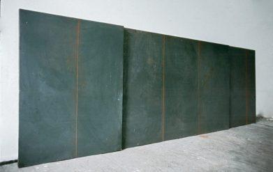 Ingo Fröhlich, Hilfslinien, 3 Kreidetafeln
