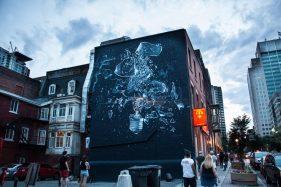 Onur Dinc, Hausfassade Montreal (CAN), 2017