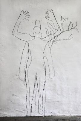 pluck & Valérie Favre, Zeichnung der Performance