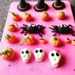 Halloween tök készítése fondantból