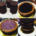 Dupla töltelékes torta készítése egyszerűen, morzsakabát és burkolás pár szóban
