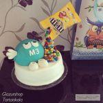 M&M torta a kisfiamnak:-)