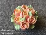 10 szirmos vajkrém rózsa svájci vajkrémmel készítve