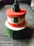 Karácsonyi trendi torta készítése egyszerűen