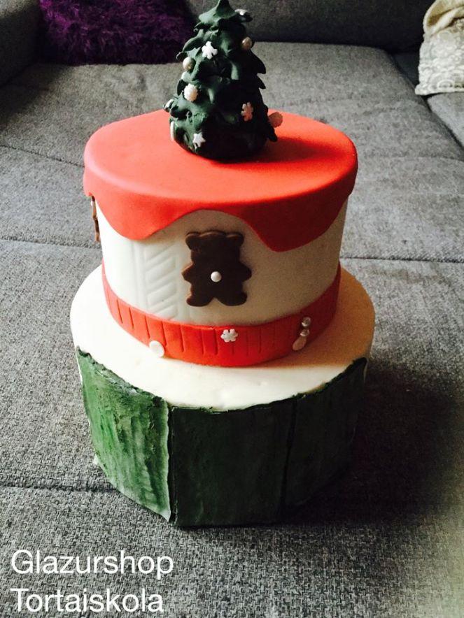 karacsonyi-torta-repdezett-fondant-zold-etelfestekporok-glazurshop-1-1