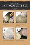 Laktózmentes tortakrémek készítése, epres, barackos és túrós